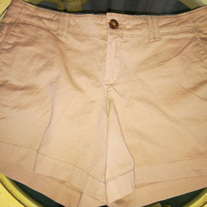 Old Navy The Perfect Khaki Stretch Shorts Size 6